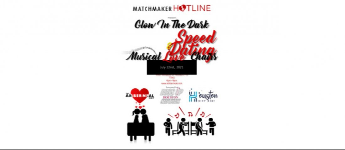 GLOW IN THE DARK SPEED DATING & MUSICAL LOVE CHAIRS