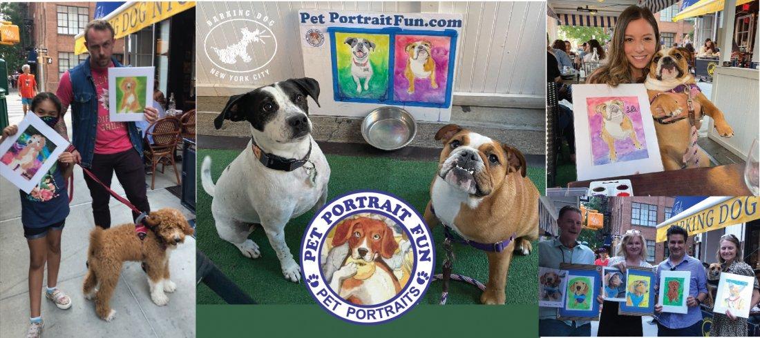 Paint Night - Pet Portrait Fun at Barking Dog